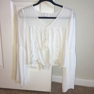 Kendall and Kylie White Top